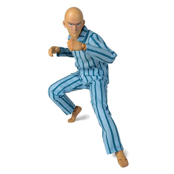 連穿睡衣也這麼霸氣!! threezero《一拳超人》埼玉 One-Punch Man