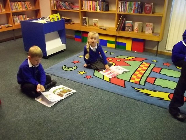 Library visit Aut 2