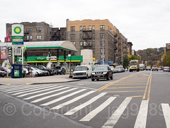 Intersection of Sherman Avenue and Tenth Avenue, Inwood, New York City