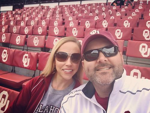 OU-west Virginia & Baker's last game!