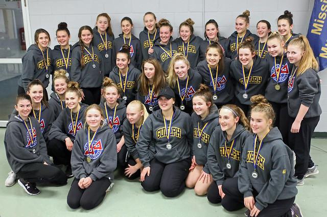 Dec 3, 2017 - Miss Must - U16AA Shock Gold and Predators Silver