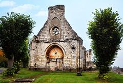 la chapelle ruinée