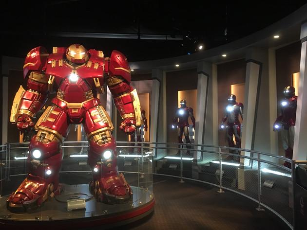 寧々さんin上海ディズニー マーベル・ユニバースでヒーロー体験