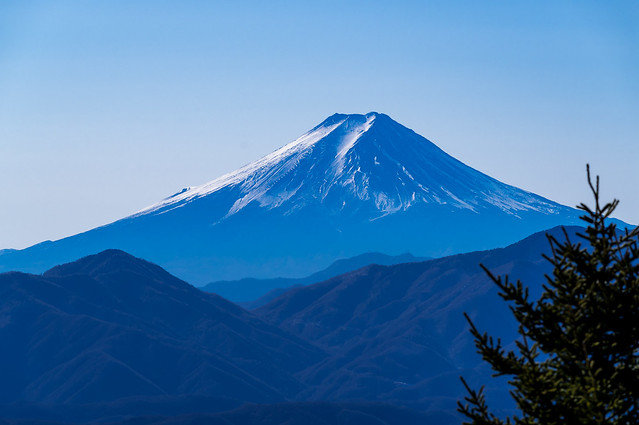 富士山のクローズアップ@避難小屋