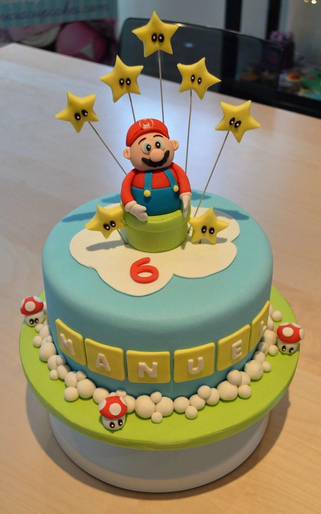 Super Mario birthday cake – Patricia Creative Cakes