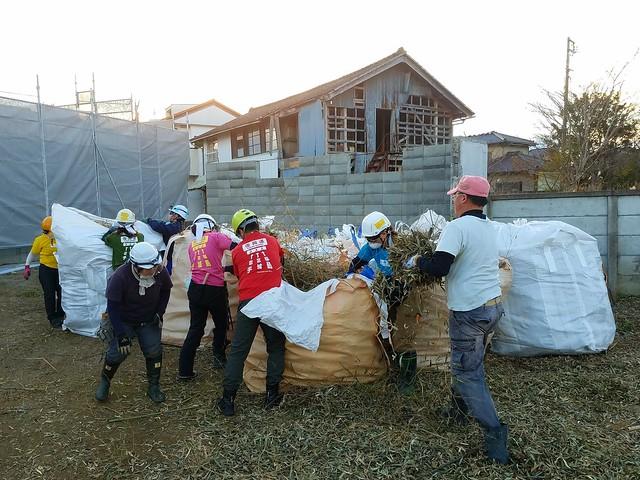 福島県浪江町で災害ボランティア(援人 2017年 1124便)