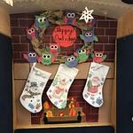 December Bookmobile display