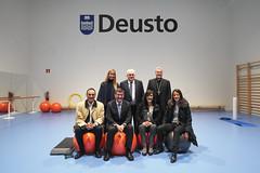 04/12/2017 - Deusto inaugura su nuevo complejo deportivo Xabier kirolgunea