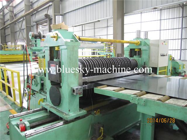 ss coil slitting machine