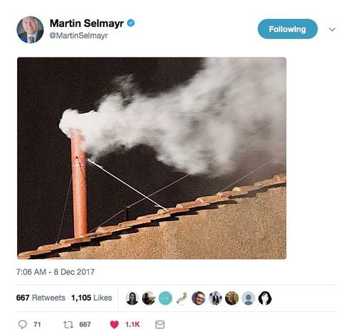 Tweet Martin Selmayr
