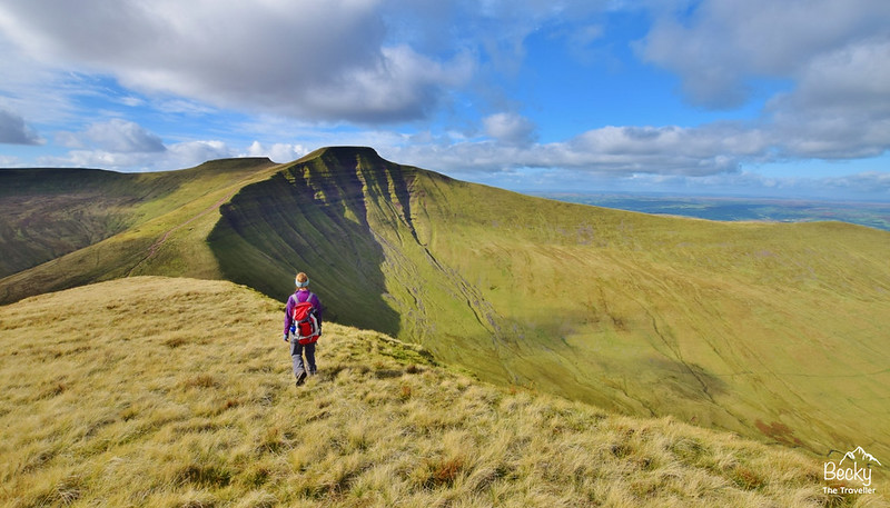 Brecon Beacons National Park Wales - 3 days hiking - Pen y Fan hike