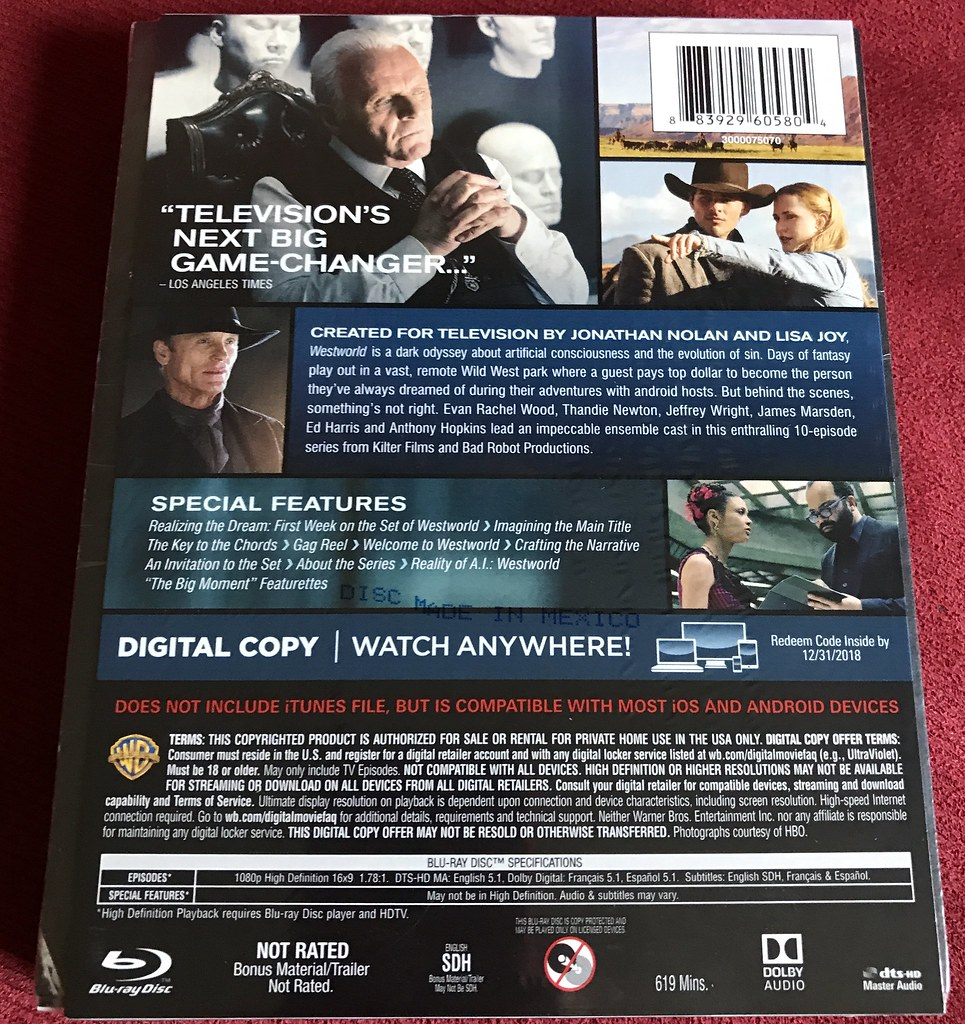45 hauls page 7 show your last received steelbook or special westworld best buy steelbook back stopboris Image collections