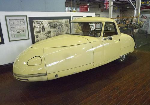 Lane Motor Museum 08-28-2017 - 1948 Davis Divan 1