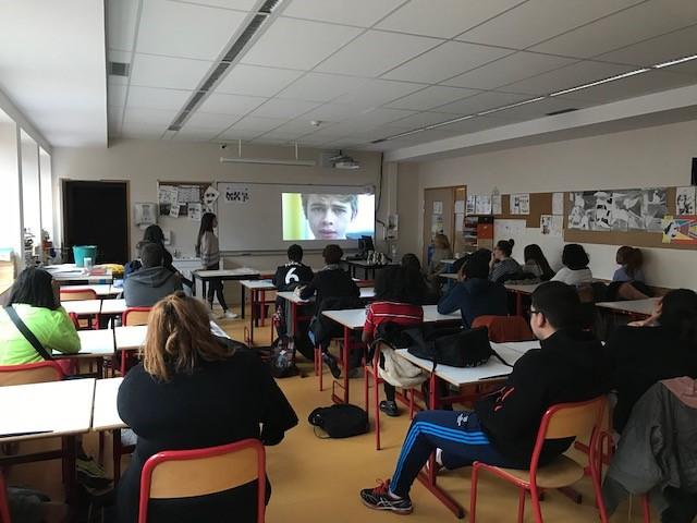 Des adultes « référents » et des élèves « sentinelles » sont intervenus dans les classes du lycée Hélène Boucher