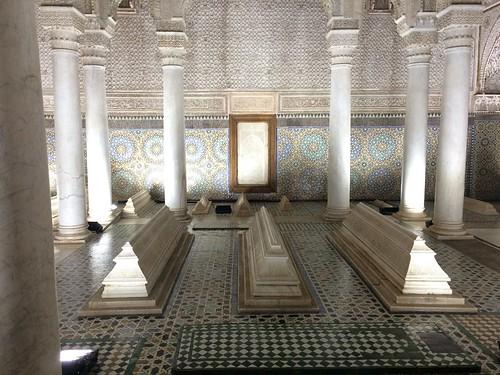サアード朝の墳墓群にあるアル・マンスール王の墓