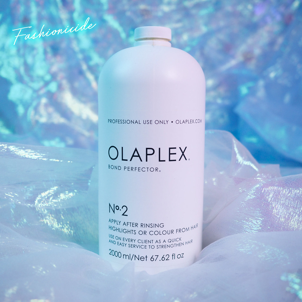 Olaplex No2 At Home Treatment Review How To