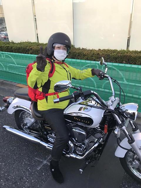 バイク 防寒