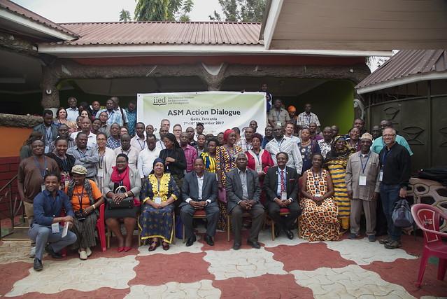 Tanzania dialogue on artisanal and small-scale mining (Photo: Steve Aanu)