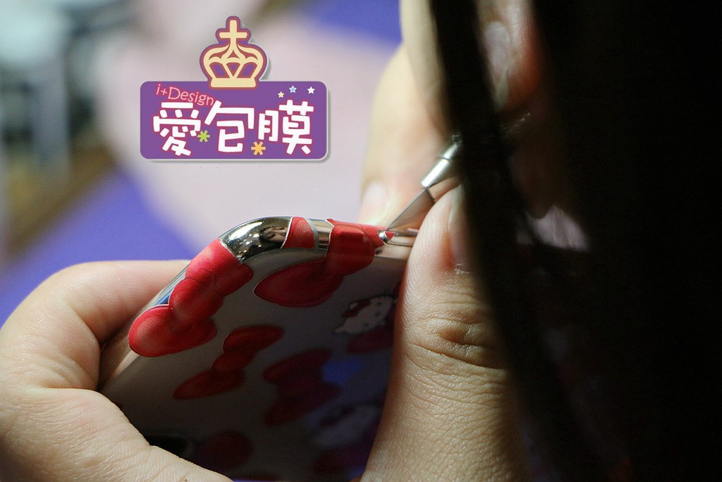 愛包膜-西門新宿 精準保護貼鋼化玻璃專業手機包膜036