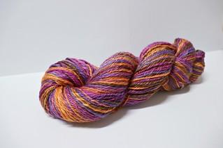 Crocus Merino-silk handspun