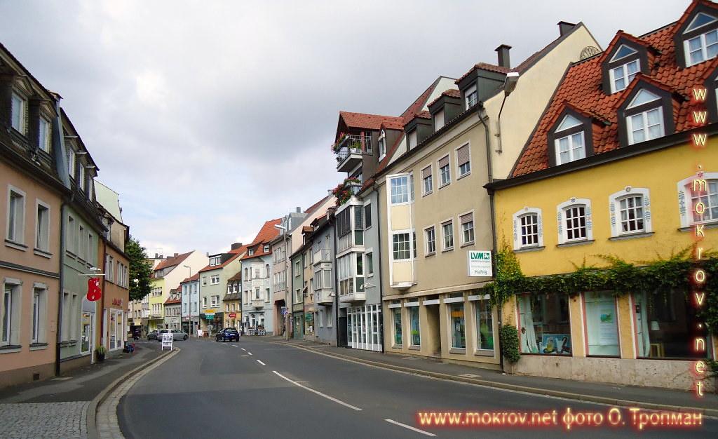 Исторический центр Швайнфурта и фотограф