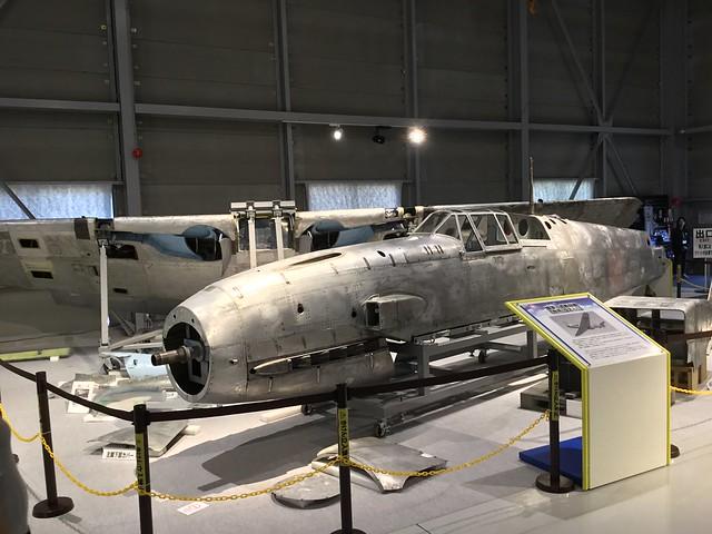 陸軍三式戦闘機飛燕 かかみがはら航空宇宙科学博物館収蔵庫 519