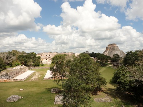 Uxmal - View from the Great Pyramid