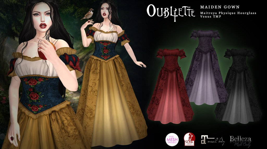 Oubliette- Maiden Dress - TeleportHub.com Live!