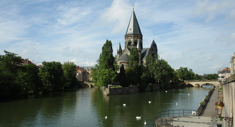 Bezienswaardigheden Metz, Temple Neuf | Mooistestedentrips.nl
