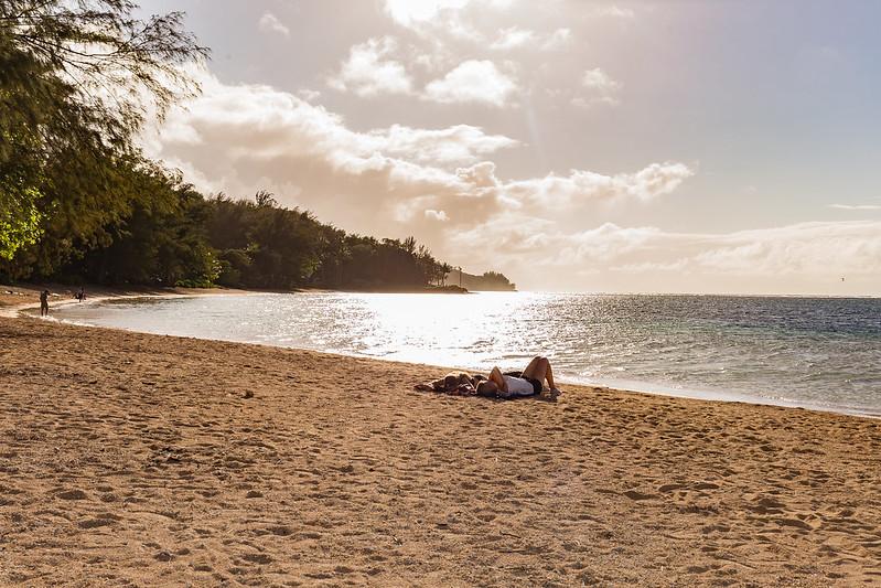 plage inconnue - Kauai - Hawaii