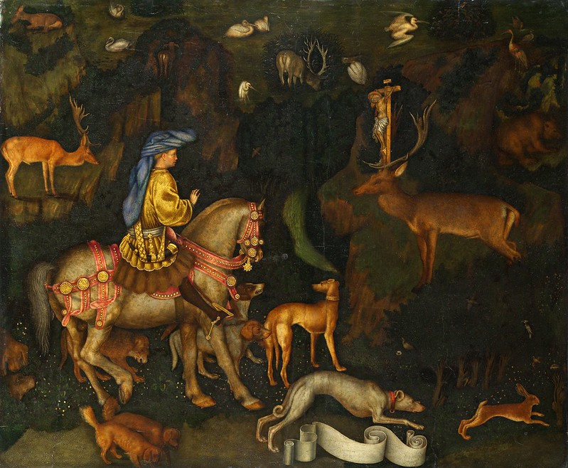 Pisanello - Vision of St. Eustace
