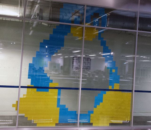 Post-it Note Art
