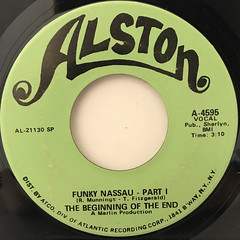 THE BEGINNING OF THE END:FUNKY NASSAU(LABEL SIDE-A)