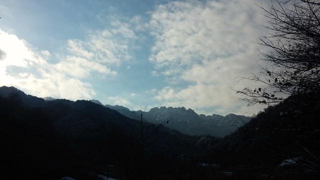 속리산 겨울풍경