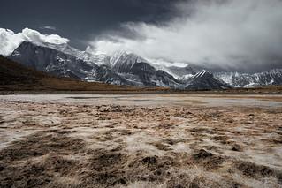 d07 / Saano Khicho [4590m] - Blick auf Annapurna III und Gangapurna