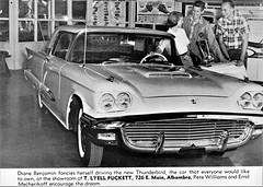 1959 Ford Thunderbird at T. Lyell Puckett, Alhambra CA