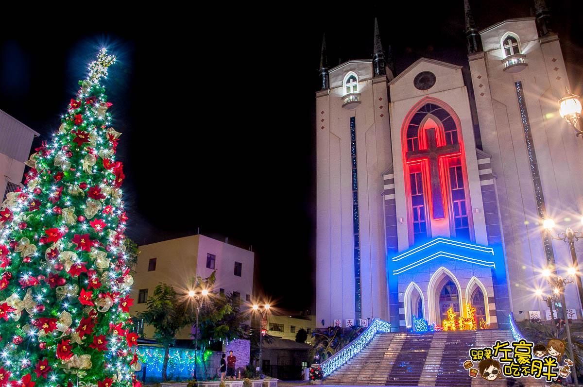 鳳山最美教堂聖誕景點-21