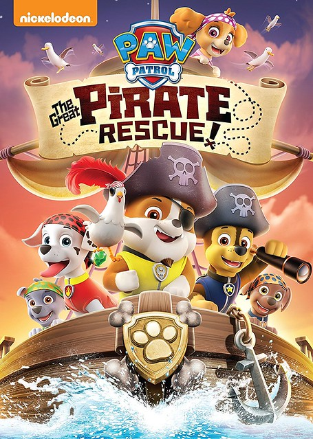PAW Patrol- The Great Pirate Rescue! Cover Art