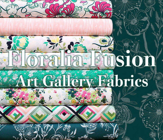 Art Gallery Fabrics Floralia Fusion Collection by AGF Studio