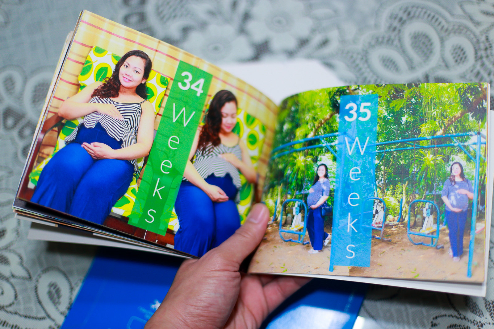 A photo of Jaycelle's Baby Bump 2015 Photo Book.