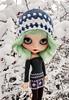 ❄💜💙💚💙💜❄ Have a wonderful weekend! #blythe #customblythe #customdoll #doll #crochetdollclothes #crochet #grannysquare by Dolliina