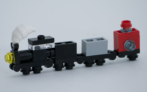 "Christmas Build-Up 2017 Day 13 MOC ""Steam Train"""