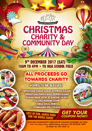 christmas charity flyer 2017