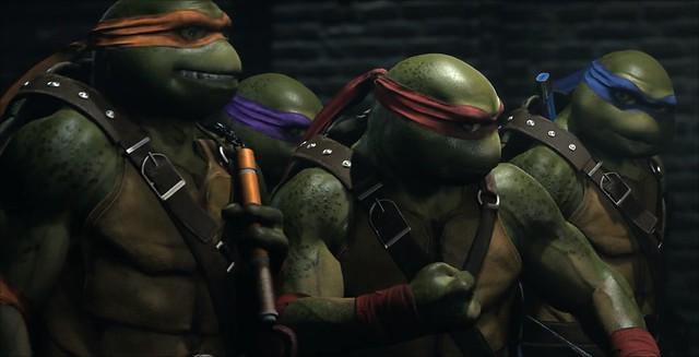 Nepravděpodobné 2 Teenage Mutant Ninja Turtles