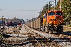 BNSF 5950   GE ES44AC   NS Harris Yard