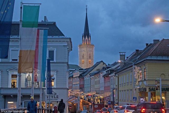 Villach in dicembre