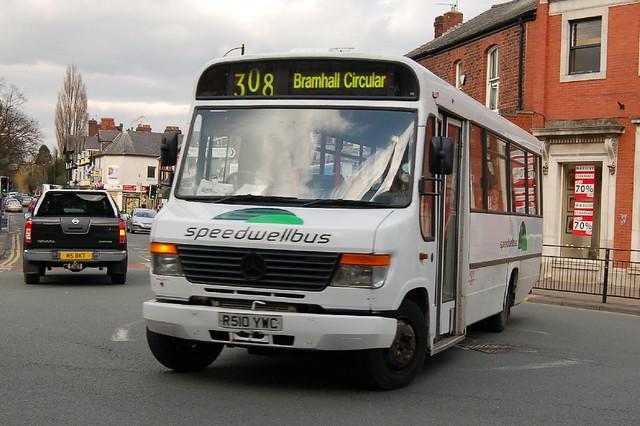 Speedwellbus Mercedes R510YWC - Bramhall, Stockport