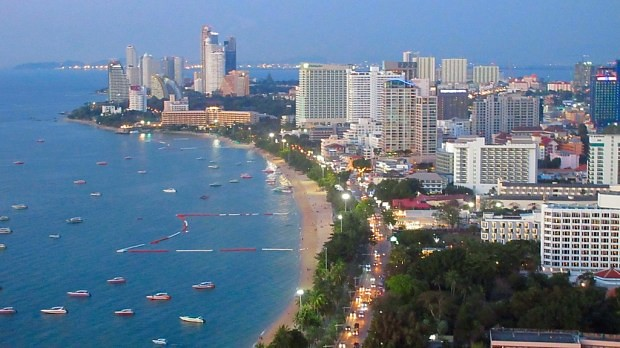 Pattaya hotels, Hilton & Holiday Inn