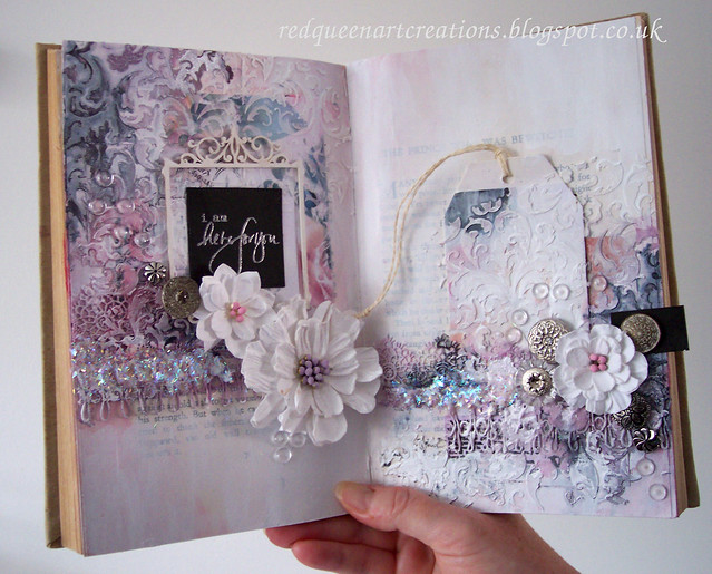 pastel art journal pages 3