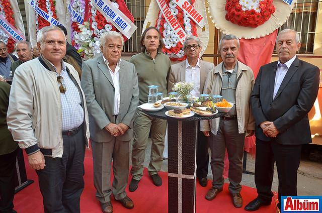 Ali Rıza Koç, Mehmet Leylek, Kudret Küre, Mehmet Ali Akış, Necat Demirci, Hasan Hüseyin Arslan